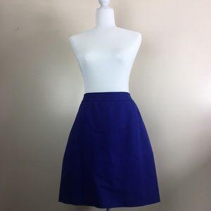 Kate Spade Pencil Skirt Gorgeous Royal Blue